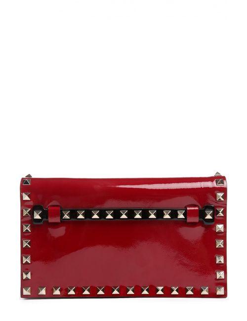 Valentino | Женский Красный Клатч