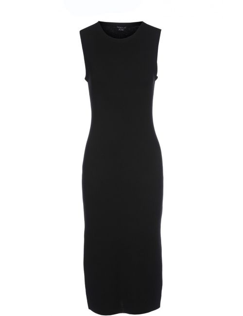 Theory | Женское Чёрное Платье Вязаное