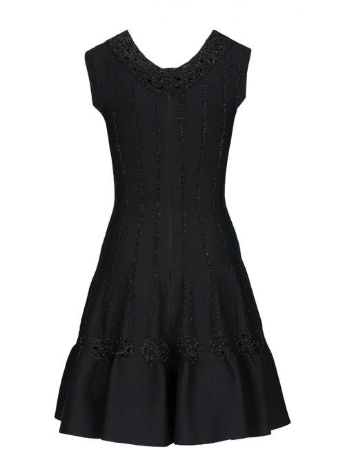 Alaia | Женское Чёрное Платье Вечернее