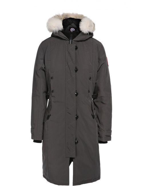 Canada Goose | Женское Серое Пальто