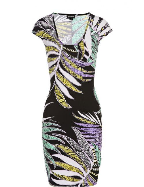 Just Cavalli | Женское Многоцветное Платье Джерси