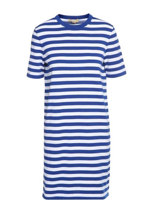 Michael Kors | Женское Синее Платье Вязаное