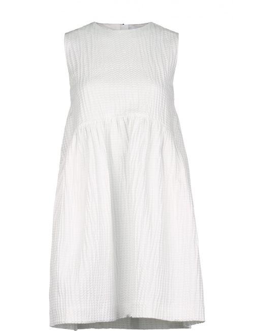 MSGM   Женское Белое Платье