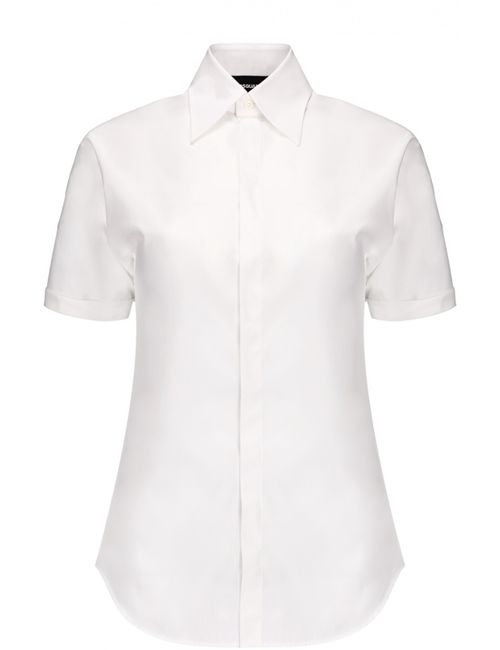 Dsquared2 | Женская Белая Блуза С Набором Значков