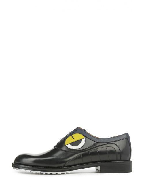 Fendi | Мужские Чёрные Туфли