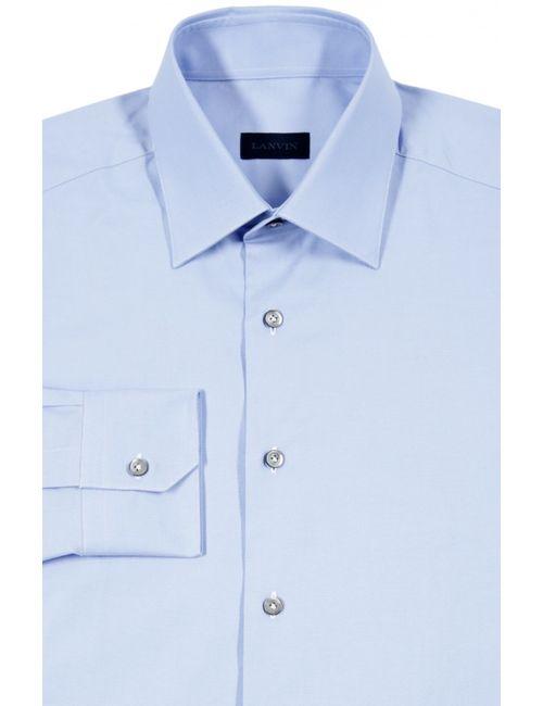 Lanvin | Мужская Синяя Сорочка