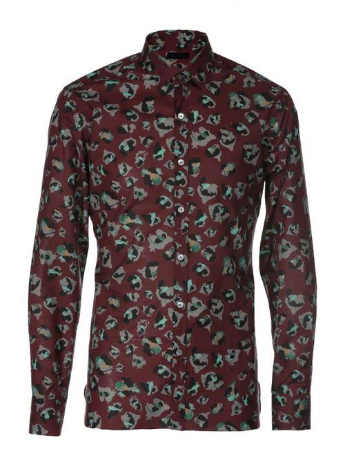Lanvin | Мужская Красная Рубашка Contemporary