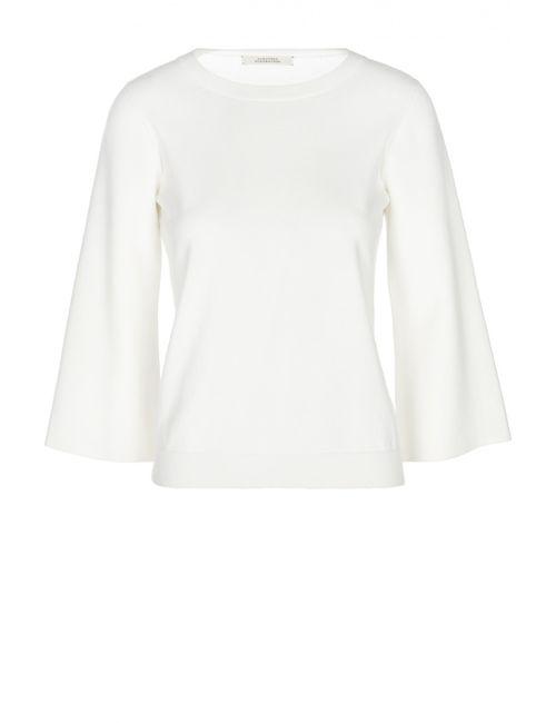 Schumacher | Женский Белый Вязаный Пуловер