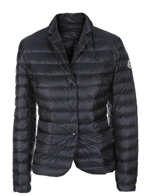 Moncler | Женская Синяя Куртка