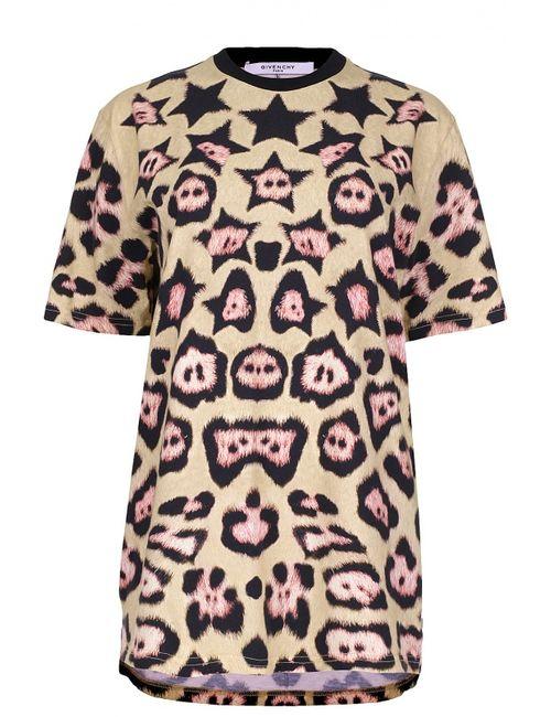 Givenchy | Женская Многоцветная Футболка Джерси
