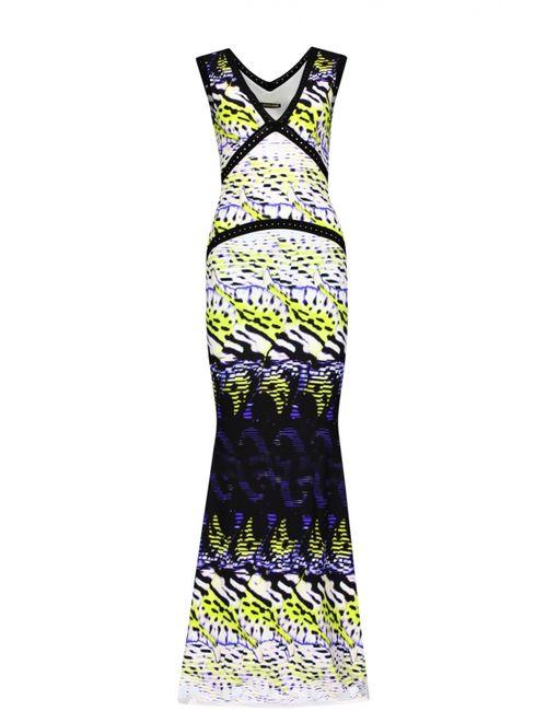 Roberto Cavalli | Женское Жёлтое Вечернее Платье