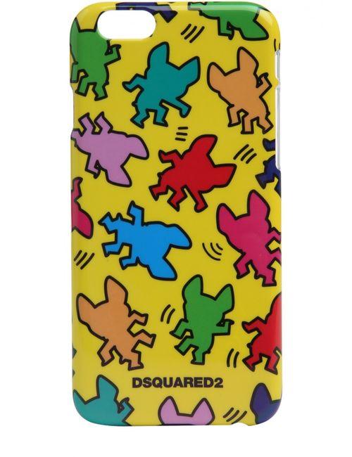 Dsquared2 | Жёлтый Чехол Для Iphone 6 С Принтом