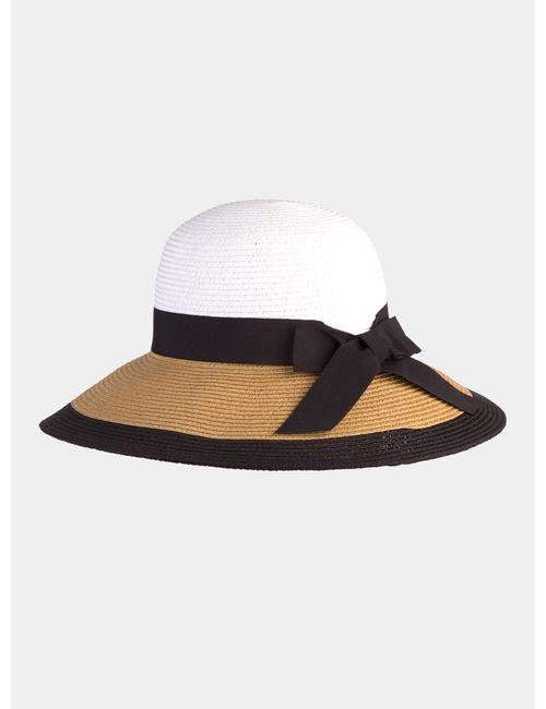 Canoe   Женская Бежевая Светло-Бежевая Шляпа Elegance