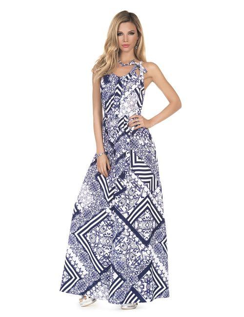 Magistral | Женское Синее Синее Платье A930