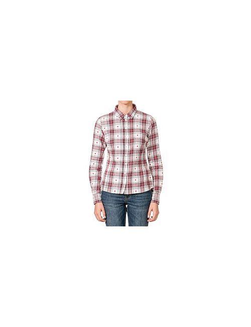 Westland | Женская Красная Блузка Фланелевая Ls