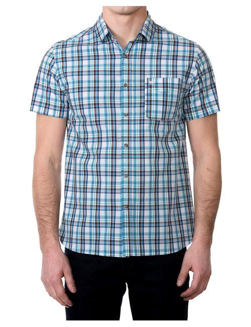 Westland | Мужская Светло-Серо-Лазурная Рубашка Мужская Ss