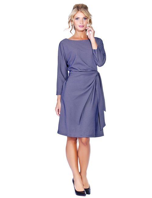 Мадам Т | Женское Синее Платье