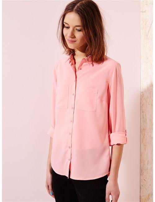 Sinsay | Женская Розовая Блузка