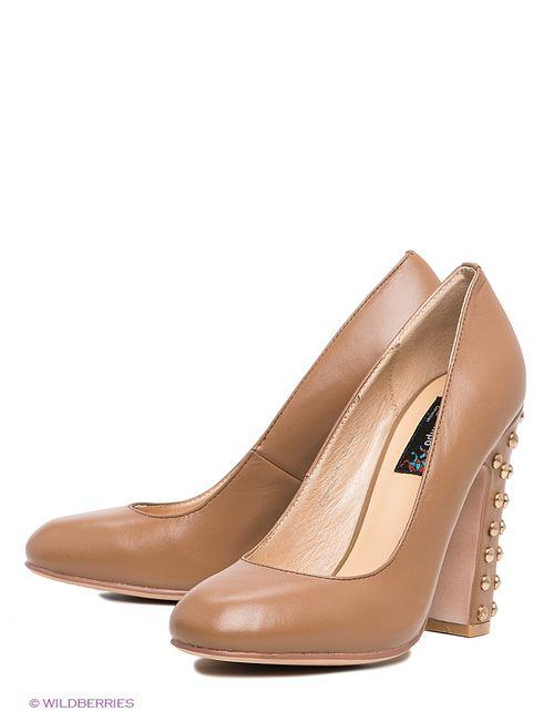 El Tempo | Женские Коричневые Туфли