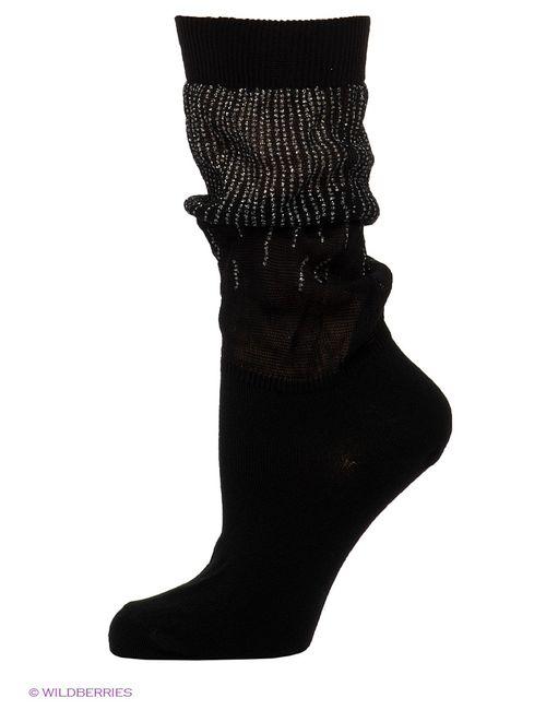 Omero | Женские Чёрные Носки