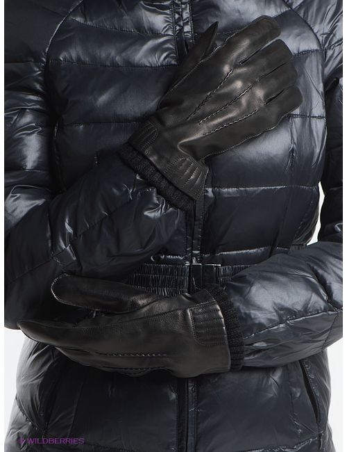 Fabretti | Мужские Чёрные Перчатки
