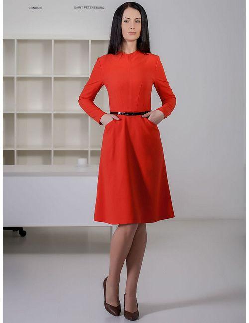 Marlen | Женские Рыжие Платья