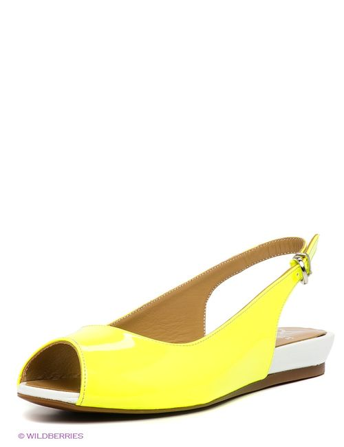 Velvet   Женские Жёлтые Босоножки