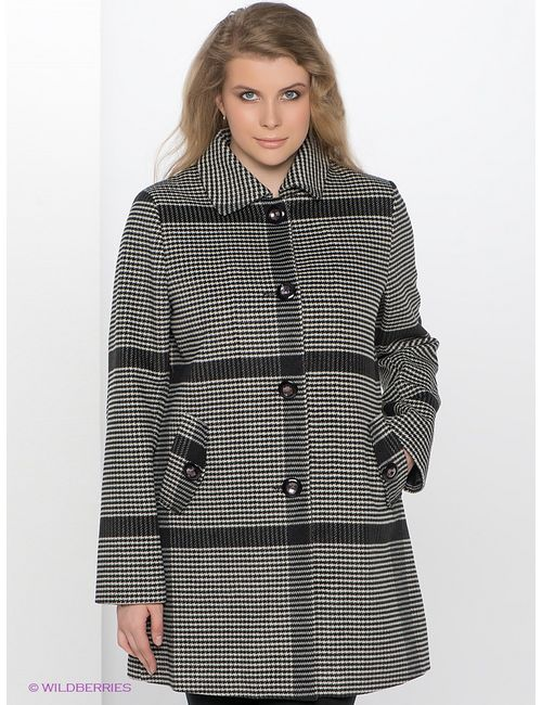 Le Monique   Женское Чёрное Пальто