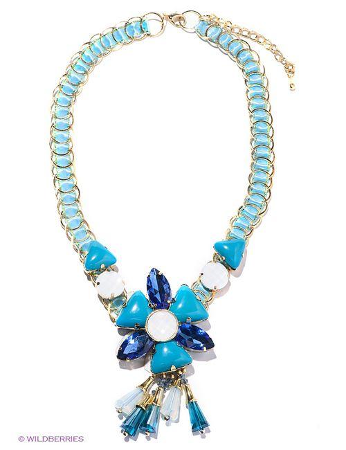 Infiniti | Женские Синие Ожерелья