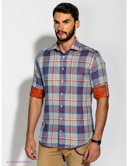 Troy Collezione | Мужские Синие Рубашки
