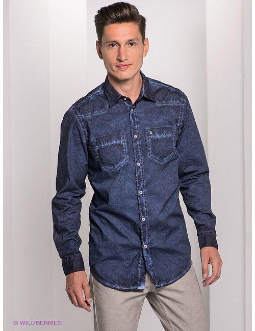 Bogner Jeans | Мужские Синие Рубашки