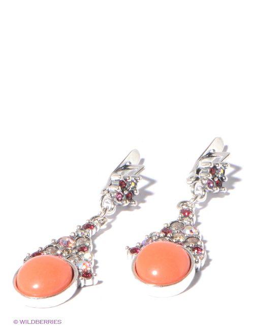 Jenavi | Женские Розовые Серьги