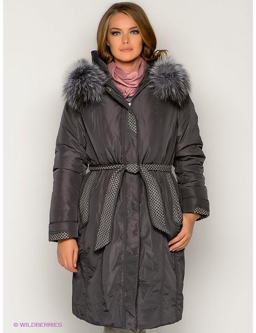 X'cluSIve   Женское Серое Пальто