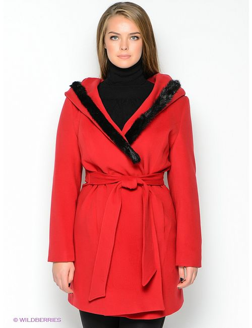 TOPSANDTOPS | Женское Красное Пальто