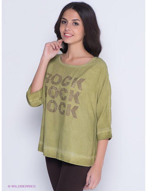 s.Oliver | Женские Зелёные Блузки