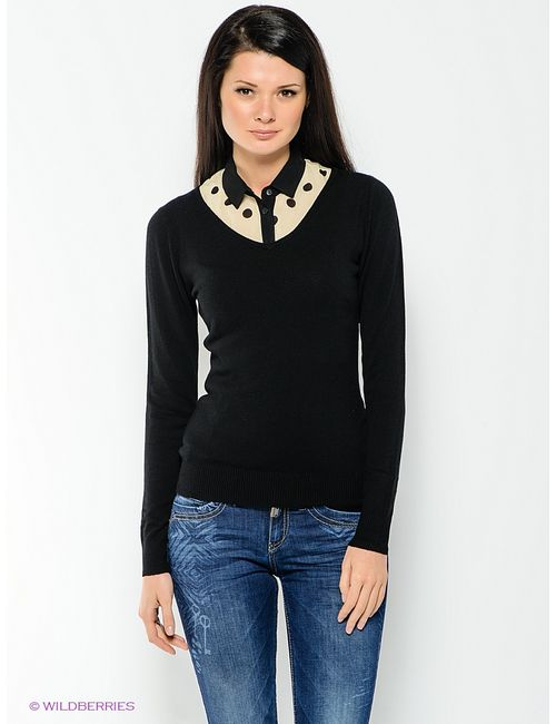 Mondigo | Женские Чёрные Пуловеры