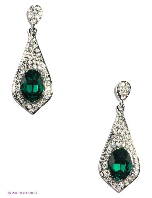 Lovely Jewelry | Женские Зелёные Серьги