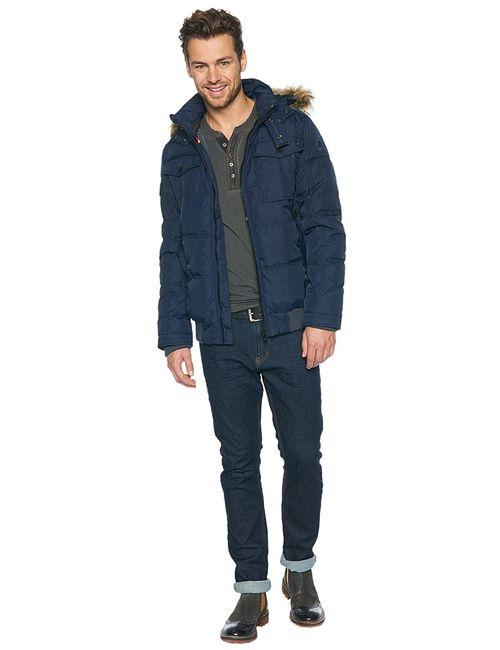 TOM TAILOR | Мужские Синие Куртки