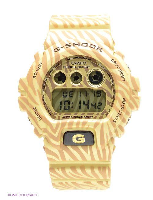 Casio | Женские Бежевые Часы