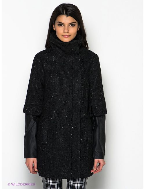 Vero Moda | Женское Чёрное Пальто