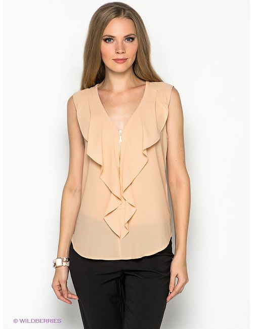 Vero Moda | Женские Кремовые Блузки