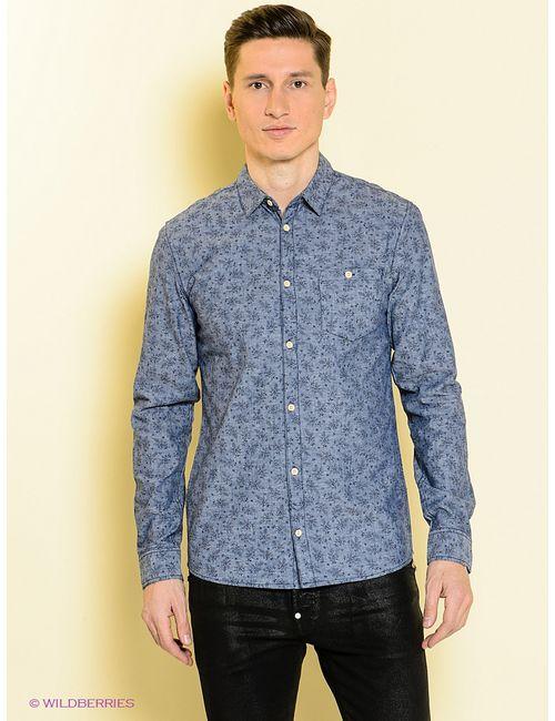 Blend | Мужские Синие Рубашки