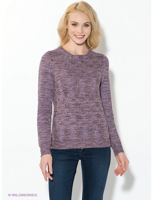Oodji | Женские Фиолетовые Джемперы