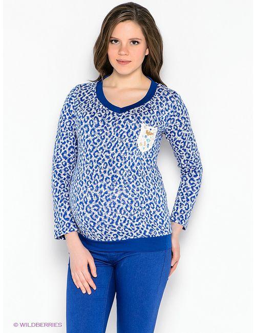 EUROMAMA | Женские Синие Пуловеры