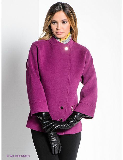 Klimini | Женское Фиолетовое Пальто