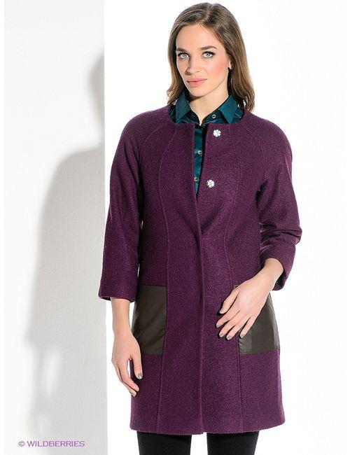 Levall | Женское Сливовое Пальто