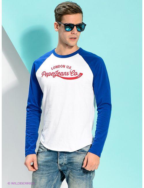 Pepe Jeans London | Мужские Синие Лонгсливы
