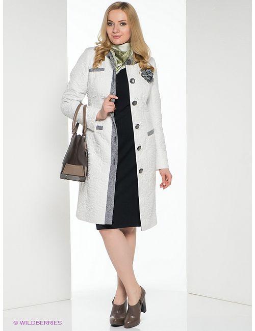 Brillare | Женское Белое Пальто