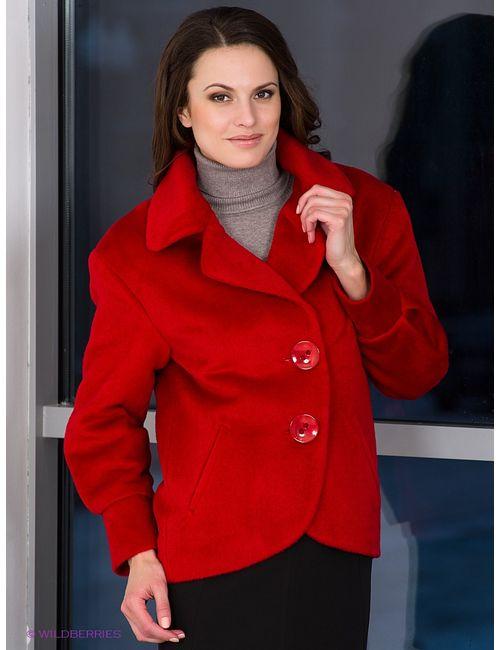 Klimini | Женское Красное Пальто