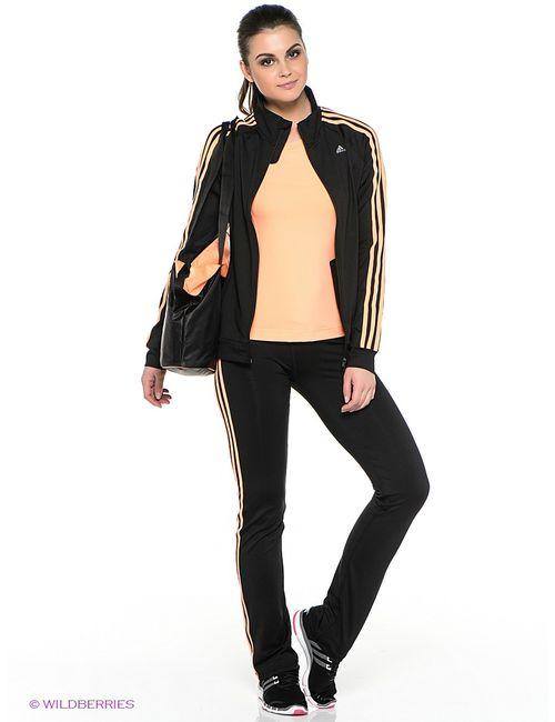 Adidas   Женские Чёрные Олимпийки